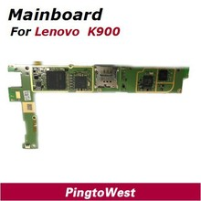 Original Used Worked Well Lenovo K900 32GB mainboard motherboard Replacement parts supplier for lenovo K900 free shipping(China)