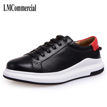 2107 spring summer men's shoes breathable thick soled sports shoes all-match Korean men increased white shoes shoes men men's(China)