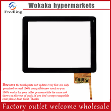 "9.7"" touch screen for freelander PD80 digitizer glass touch panel free shipping(China)"