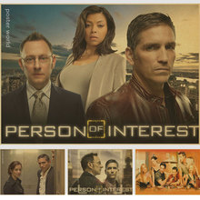 The Fifth and Final Season Person of Interest American TV series Vintage Poster Decorative DIY Wall Art Home Bar Posters Decor