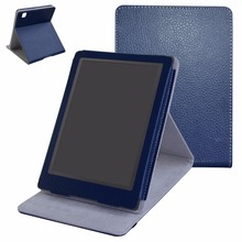 "Folding Stand PU Leather Ebook Case For 6.8"" Kobo Aura H20 2nd Edition 2017 Shockproof Protective Cover(China)"