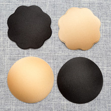 Buy Women's New Nipple Covers Pads Patches Self Adhesive Wedding Party Dress Disposable Comfort Breast Petals Intimates Accessories