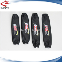 Free shipping  RC racing car 1/5 scale Baja parts black Shock wear (2pcs front and 2pcs rear) 4 pcs/set