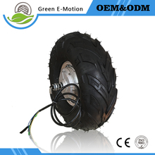 inventory clearing 14.5inch electric wheel motor 48v 500w brushless hub motor golf carts motor wheelbarrow tricycle motor wheel