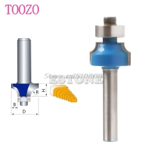 "New 1/4"" Radius 1/4"" Shank Round Over Beading Edging Router Bit Woodworking Tool #S018Y# High Quality"