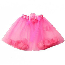 Sweet Girl Kid Baby Pettiskirt Dance Wedding Party Princess Tutu Skirt S22(China)