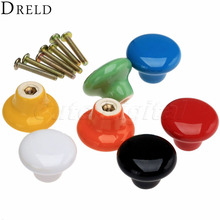 Kitchen Handle Furniture Knobs Cabinet Knobs and Handles Ceramic Drawer Knob Pulls Closet Cupboard Pull Handle Furniture Fitting(China)