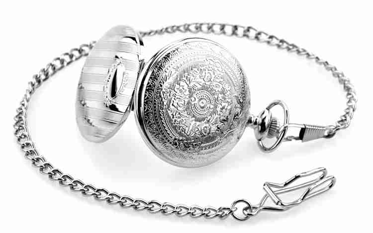 Fashion-Modern-High-Quality-Silver-Quartz-Pocket-Watch-With-Pendant-Chain-Men-Womens-Watches-Gift (3)