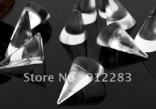Free Shipping 20pcs 25mm Clear Cone Ring Display Stand,Fashion Jewelry Display