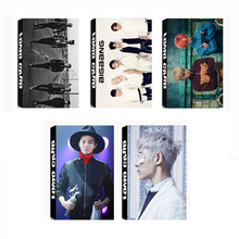 Youpop KPOP BIGBANG GD&TOP TOP GD Album LOMO Cards K-POP Fashion Self Made Paper Photo Card HD Photocard LK316