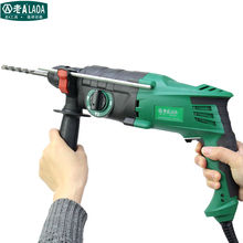 LAOA 220V 900W light weight multi-functional electric hammer 26mm diameter triple-purpose electric drill Power tools