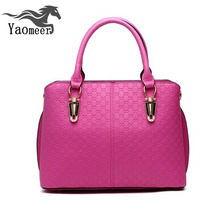 Luxury Brand Italian Handbags Women Bags Designer High Quality Pu Leather Crossbody Shoulder Bags Female Zipper Solid Pink Totes