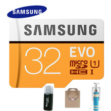 SAMSUNG Memory Card 128gb EVO Micro SD TF Card 128GB 64GB 32GB Class10 U3 4K HD UHS1 SDHC SDXC Speed Up to 100 MB/s (2017 Model)