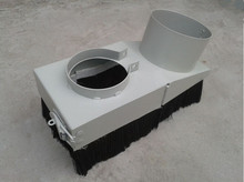 125mm cnc dust collector cover CNC Router Accessories for 5.5kw spindle