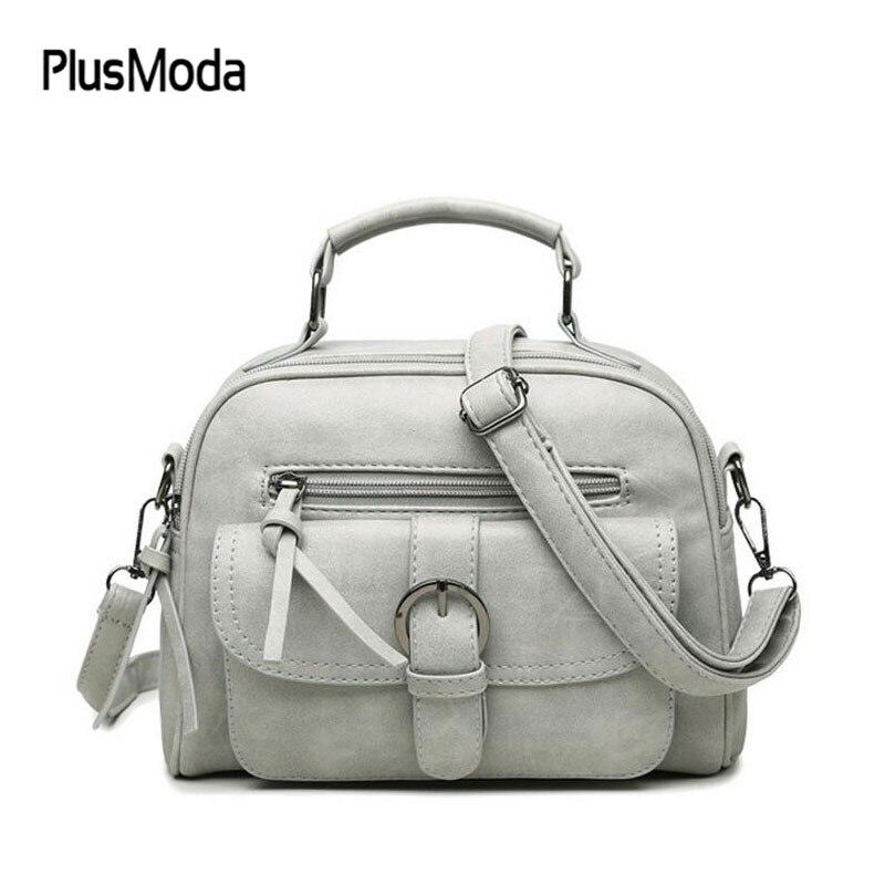 New Fashion Nubuck Leather Vintage Messenger Bag Motorcycle Small Mini Crossbody Bags Women Printing Handbags Shoulder Bag