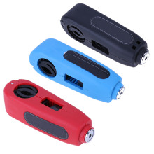3 Colors Wonderful Motorcycle Handlebar Safety Lock Brake Throttle Grip Security Lock(China)