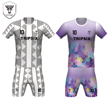 100% polyester oem supply unisex soccer jerseys sublimation team kits football wear(China)