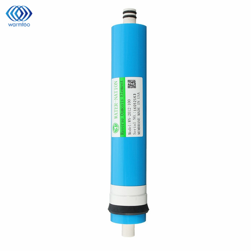 Home 100 GPD RO Membrane Reverse Osmosis Replacement Water System Filter Purification Water Filtration Reduce Bacteria Kitchen<br>