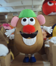 New arrival 2014 Adult Mr. Potato Head Mascot Costume Toy Story Adult Fancy Dress Cartoon carnival Outfits