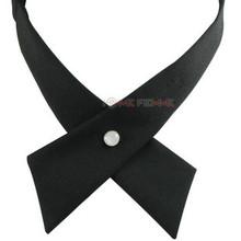 Fashion fashion cross bow tie male bow tie the wedding shirt small cravat female Cross tie