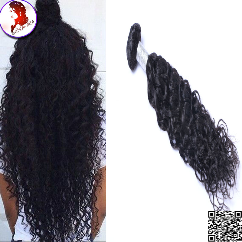 8A Grade Water Wave Brazilian Hair Weave Bundles 100% Virgin Human Hair Extensions 4 Bundles Queen Weave Beauty Hair<br><br>Aliexpress