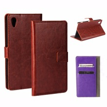 Buy Luxury Retro Leather Case Sony M4 Aqua e2303 e2333 Wallet flip cover Coque Sony Xperia M4 Aqua Case Phone funda capa for $4.04 in AliExpress store