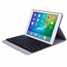 For Apple Macbook Ipad Pro 9.7 Case Black Protective Cover Wireless Keyboard Bluetooth Sleeve Auto Sleep Travel Bag(China)