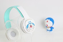 Good Gift Cartoon Earphone Microphone Wired 3.5mm Plug Headphones For MP3 MP4 For iphone Samsung Xiaomi Headset For Girls(China)