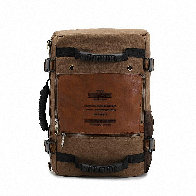 vintage mens backpacks rucksack High quality canvas shoulder bags large travel backpack  LI-1235<br><br>Aliexpress