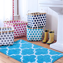 Nordic Grid Doormat & Rug for Bedroom Bathroom Living Room Balcony Kitchen Free Shipping