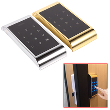 New 2017 Touch Keypad Lock Password Key Access Lock Digital Electronic Security Cabinet Coded Locker Hot Sale