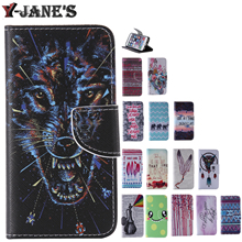 Buy Painted Style Leather Protector TPU Cover Stand Case Wallet Card Slots Phone Case Samsung Galaxy S4 Mini i9190 Cases for $3.98 in AliExpress store