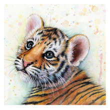 5D diy diamond painting Siberia tiger pictures of Round rhinestones cross stitch Diamond Embroidery needlework home decorative