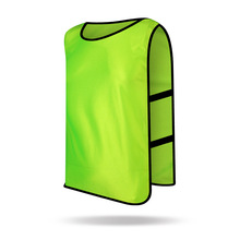 2017 New Sleeveless Men Kids Soccer Training jersey Sports Football Against Vest Waistcoat Grouping Jerseys Shirt DIY Customized(China)