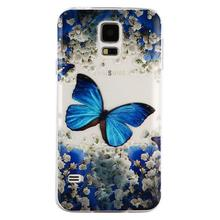 Epoxy Resin Varnishing Clear TPU GEL Cover For Samsung Galaxy S5 Soft Case Tranparent ForSamsung Galaxy S5 Cover Phone Cases