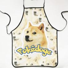 FREE SHIPPING Creative Cooking Aprons Man Novelty Cooking Kitchen Single Dog Print Sexy Apron Baking Present Pinafore Chef Funny
