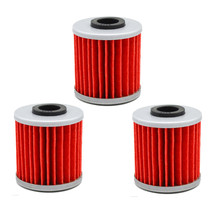 3 pcs High Performance Powersports Cartridge Oil Filter for SUZUKI RMZ250 RMZ 250 249  2004-2015