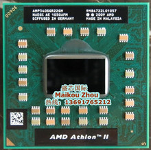 Laptop CPU  processor AMD Athlon II Dual-Core P340 P 340  p340 Mobile (1M Cache 2.2 GHz) AMP340SGR22GM Socket S1/S1g  cpu