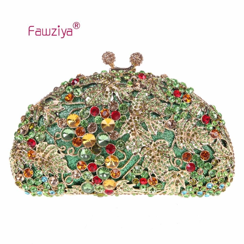 Fawziya Women Clutch Bag Kiss-loack Gripe Pattern Ladies Luxury Clutch Bag Wedding Party Handbag<br><br>Aliexpress