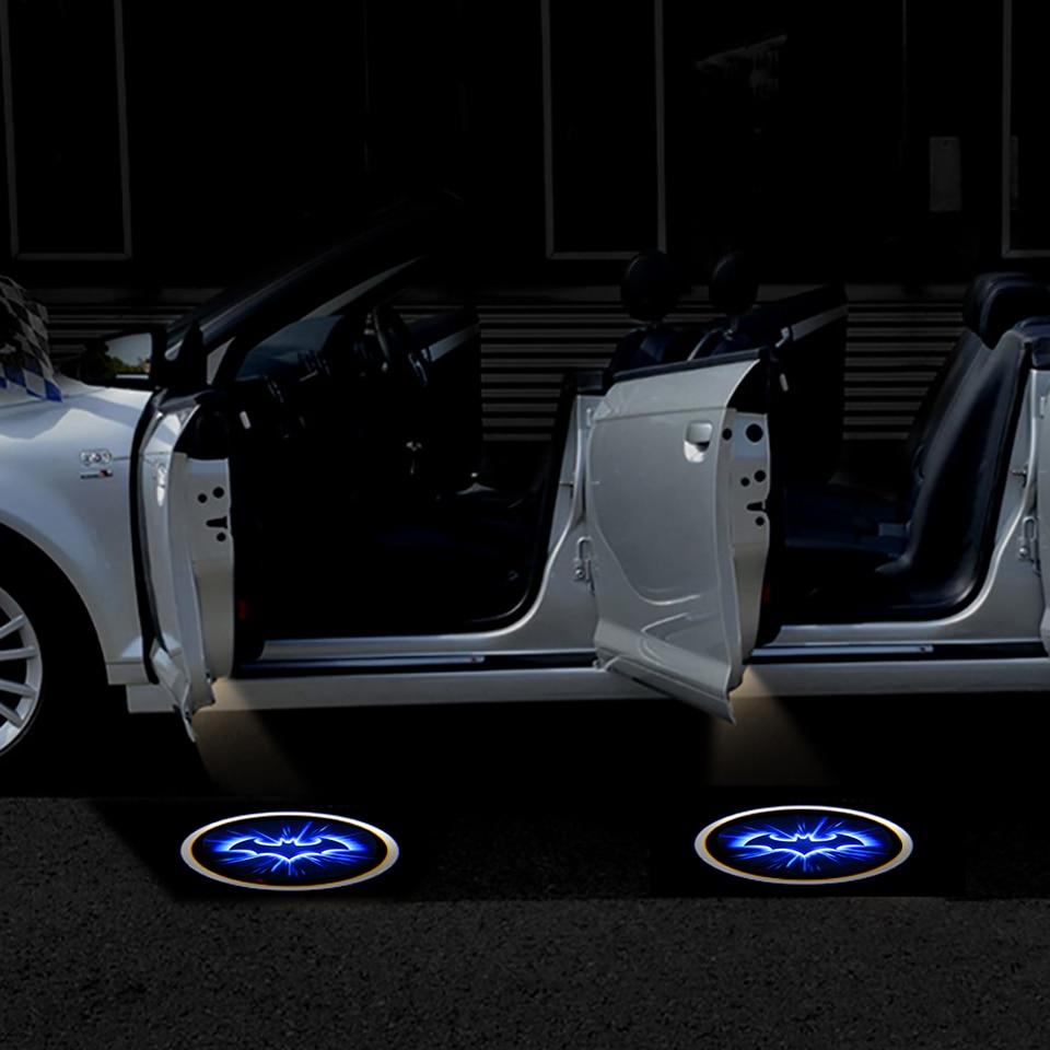 2pcs Wireless Car Door Led Welcome Laser Projector Logo Ghost Shadow Light Batman Car-styling Car Interior Lamp Light (8)