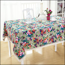 Customize multicolour fluid dining table fabric table runner gremial tablecloth rustic personalized decoration wine