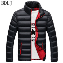 BDLJ New Men Jacket Autumn Winter Hot Sale High Quality Men Fashion Coat Casual Outwear Cool Design Warm Jacket Plus Size 4XL