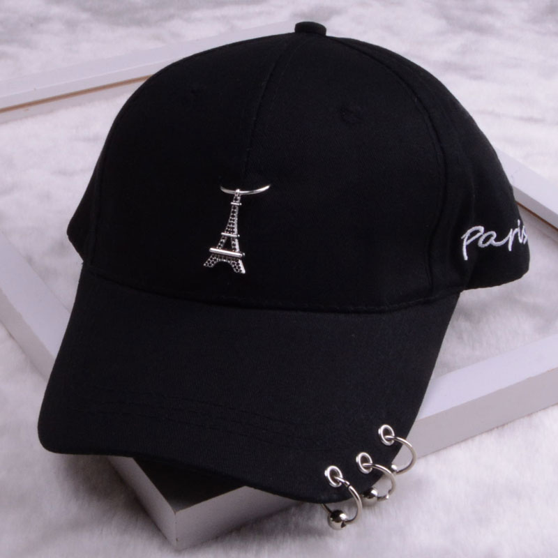 baseball cap with ring dad hats for women men baseball cap women white black baseball cap men dad hat (23)
