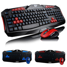 Gaming wireless 2.4G keyboard and Mouse Set to computer Multimedia Gamer(China)