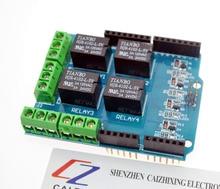 4 channel 5v relay shield module, Four channel relay control board relay expansion board arduino UNO R3 mega 2560