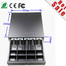 2017 Hot Sale Ecc 4:3 Gaming Computer Best Quality Cash Register Drawer Pos Five Grids Three Section Of The Cashbox(China)