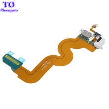 10pcs/lot  Replacement USB Port Connector Charging Headphone Audio Jack Flex Cable For iPod Touch 5 5th