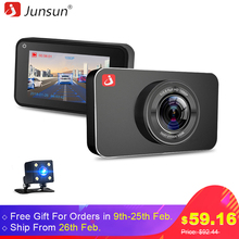 "Buy Junsun H9 Super Night Vision Car DVR Camera ADAS/LDWS FHD 1296P/1080P 3 "" IPS Dash cam Video Recorder Registrar Parking Monitor for $58.24 in AliExpress store"