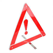 Portable Folding Safety Traffic Warning Reflective Car-styling Car Emergency Tripod Stop Sign Warning Triangles
