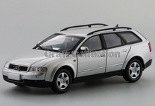 Car Model New Audi A4 MPV 1:24 Volkswagen VW A4 Touring wagon Silver Diecast Model